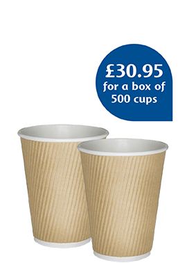 8oz Ripple Wall Paper Cup